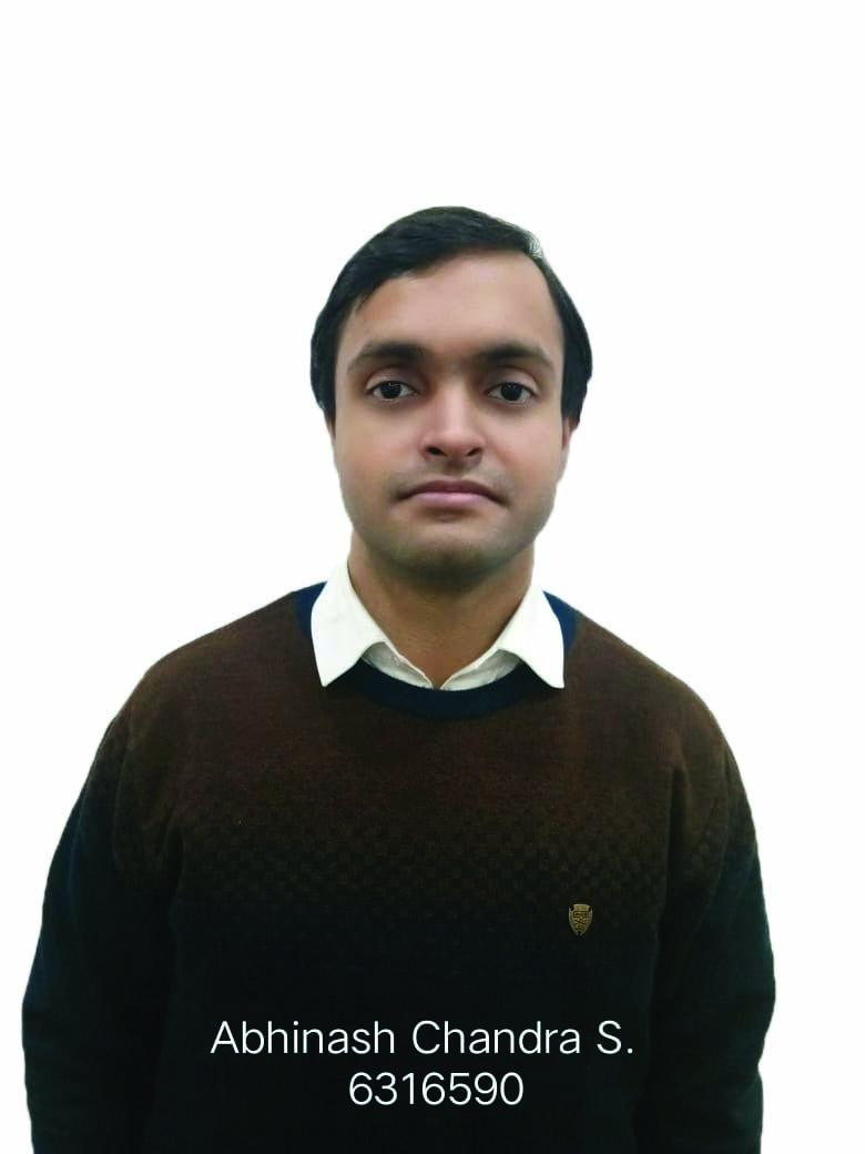 Avinash Chandra Sandilya