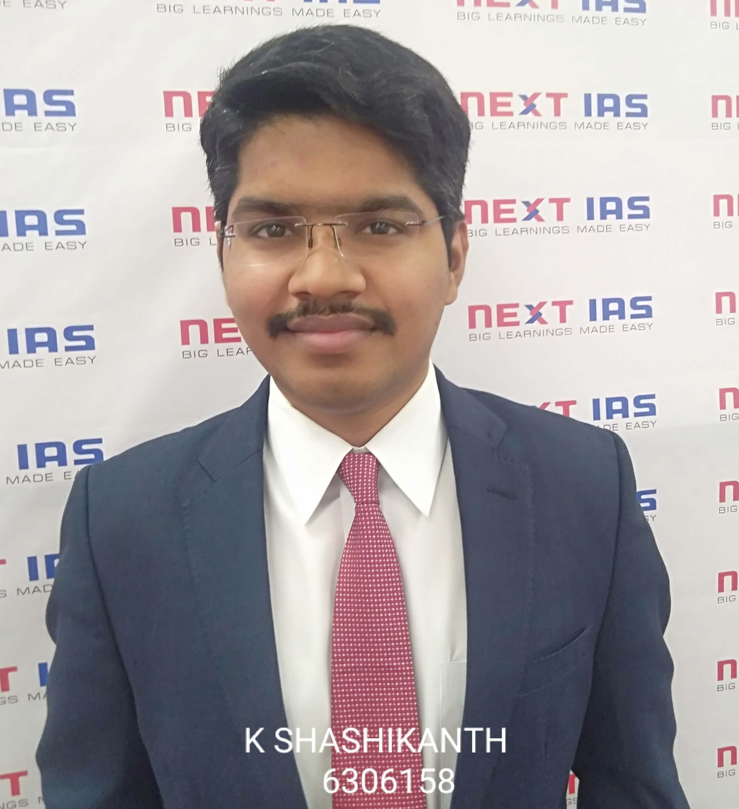 K SHASHIKANTH